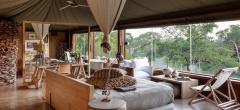 Faru Faru Lodge - lounge