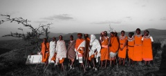 Lewa downs - Masai Dancers