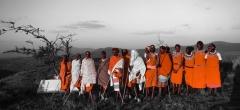 Lewa downs - Masai Dancers