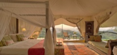 Cottars Camp - Tent