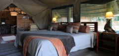 Mwagusi Camp - Bedroom