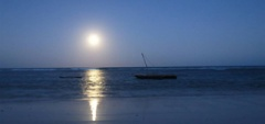 Kenya - fishing moonlight