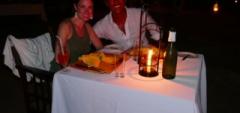 Client photo - dinner