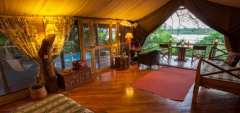 Rufiji River Camp - Bedroom