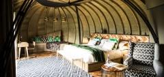 Bisate Lodge - Bedroom