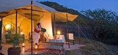 Cottars Camp - Outdoor bath