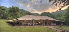 Cottars Tent - View