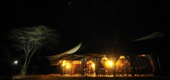 Kwihala Camp - camp at night