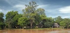 Nsefu Camp - River view