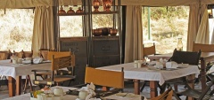 Serengeti Pioneer Camp - Dining area