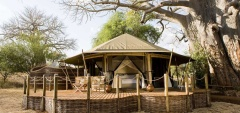 Swala Safari Camp - Main Area