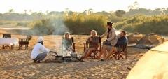 Kichaka Camp - camp fire