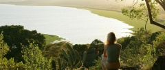 Loldia - view of the lake