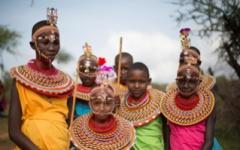 Samburu village viist